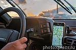 4469628 / Навигатор в автомобиле