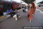 5860064 / Пассажиры на вокзале