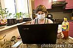 6182166 / Женщина с ноутбуком