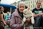 6207373 / Бабушка с собакой