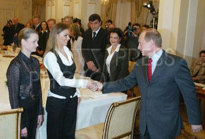 У президента путина кабаева свадьба фото