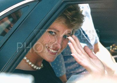 232955 / Принцесса Диана. Принцесса Диана во время своего единственного визита в Россию в 1995 году.