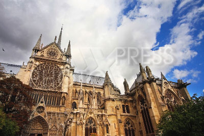 2660624 / Собор Нотр-Дам де Пари. Кафедральный собор Нотр-Дам де Пари (Notre-Dame de Paris) — Собор Парижской Богоматери.