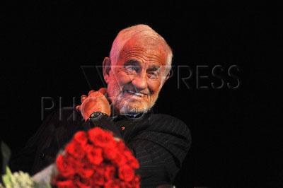 3454118 / Жан Поль Бельмондо. Творческий вечер актера Жан Поля Бельмондо.