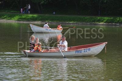 прокат лодок в кусково