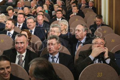 В москве проходит юбилейный, 10-й съезд союза журналистов россии