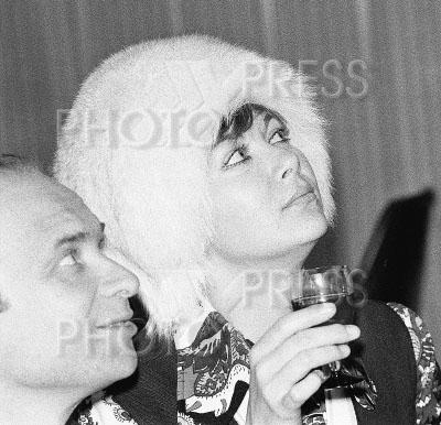 3959689 / Добронравов и Пьеха. Поэт Николай Добронравов и певица Эдита Пьеха.