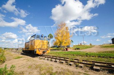 4161268 / Узкоколейка. Кудемская узкоколейная железная дорога.