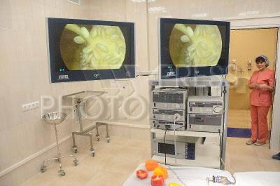 4182268 / Клиника `Мать и дитя`. Вторая очередь клиники `Мать и дитя`. На снимке: малая операционная.