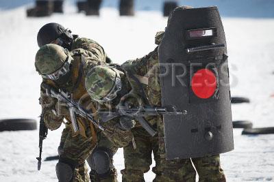 4193034 / Спецназ ФСИН. Полевые учения отдела специального назначения ФСИН.