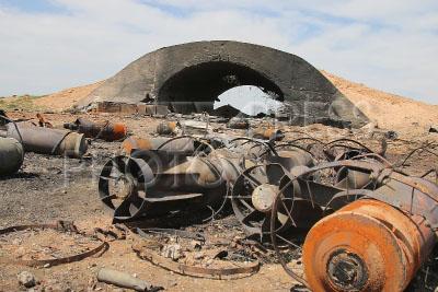 4204272 / Удар по авиабазе `Шайрат`. Последствия ракетного удара США по авиабазе `Шайрат`.