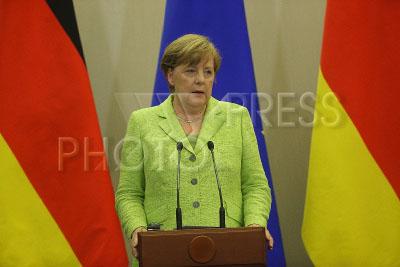 4210901 / Ангела Меркель. На снимке: федеральный канцлер Федеративной Республики Германия Ангела Меркель.