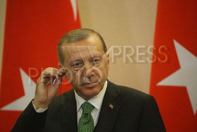 4211166 / Реджеп Тайип Эрдоган. На снимке: президент Турции Реджеп Тайип Эрдоган.
