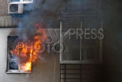 4224183 / Пожар в жилом доме. Пожар в квартире жилого дома.