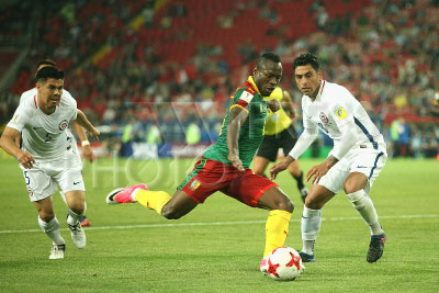 4226204 / Футбол: Чили - Камерун. Кубок конфедераций FIFA 2017. Матч Чили - Камерун.