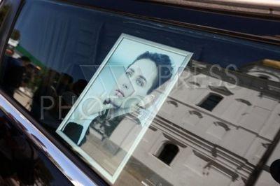 4242297 / Прощание с Ириной Бережной. Прощание с бывшим депутатом Верховной Рады Украины Ириной Бережной. На снимке: портрет Ирины Бережной.