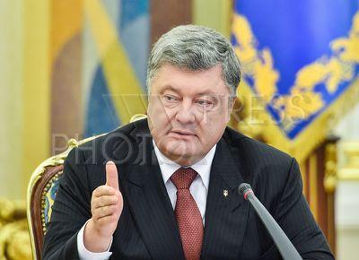 4249312 / Петр Порошенко. Заседание Национального совета реформ. На снимке: президент Украины Петр Порошенко.