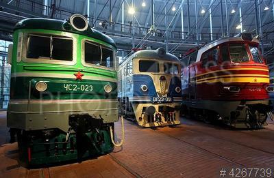 4267739 / Музей железных дорог России. Открытие многофункционального музейного комплекса железных дорог России, расположенного вблизи Балтийского вокзала.