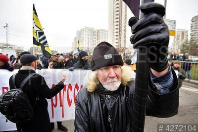 4272104 / `Русский марш`. День народного единства. Акция `Русский марш`.