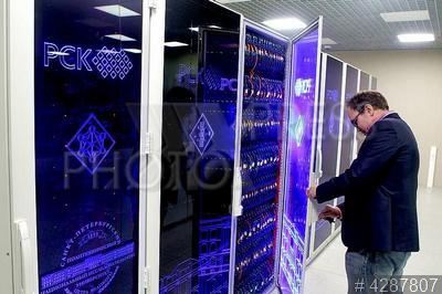 4287807 / Суперкомпьютерный центр. Суперкомпьютерный центр `Политехнический` Санкт-Петербургского политехнического университета Петра Великого.
