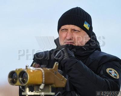 4299353 / Александр Турчинов. Испытательные пуски украинских ракет в Одесской области. Секретарь СНБО Александр Турчинов.