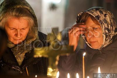 4302671 / Рождественское богослужение. Православное Рождество Христово. Рождественское богослужение.