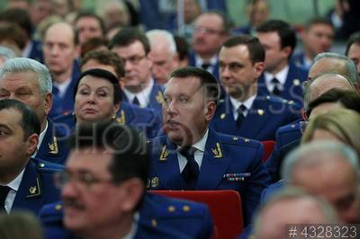 4328323 / Прокуроры. Расширенное заседание коллегии Генеральной прокуратуры РФ.