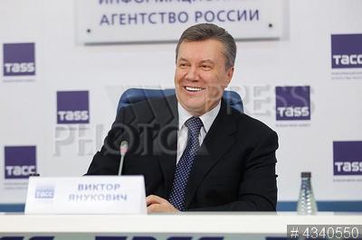 4340550 / Виктор Янукович. Пресс-конференция экс-президента Украины Виктора Януковича. Бывший президент Украины Виктор Янукович.