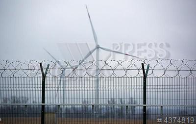 4374819 / Ветропарк Fortum. Ветропарк компании Fortum. Ветряная электрическая станция (ВЭС).