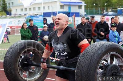 4393587 / Дмитрий Копыл. Чемпионат России по силовому экстриму в весовой категории до 105 кг. Спортсмен Дмитрий Копыл.