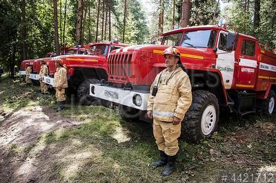 4421712 / Конкурс `Лучший лесной пожарный`. IV всероссийского конкурса профессионального мастерства `Лучший лесной пожарный - 2018`. Пожарная техника.