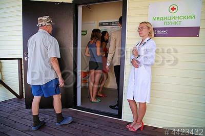 4423432 / Врачебная амбулатория. Открытие модульной врачебной амбулатории в садоводстве `Красногорское`.