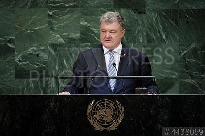 4438059 / Петр Порошенко. визит президента Украины в США. 73-я сессия Генеральной Ассамблеи ООН. Президент Украины Петр Порошенко.