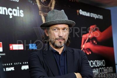 4443575 / Венсан Перес. 5-й Фестиваль французского кино `Le Cinema Francais`. Премьера фильма `Основано на реальных событиях`. Швейцарский актер Венсан Перес.