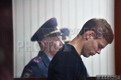 4445254 / Александр Кокорин. Футболист Александр Кокорин, обвиняемый в хулиганстве.
