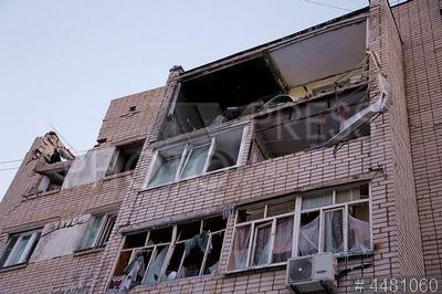 4481060 / Взрыв газа в жилом доме. Последствия взрыва газа в квартире жилого дома.