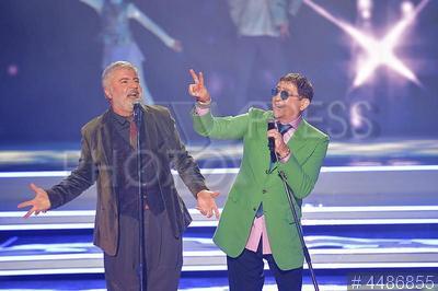 4486855 / Павлиашвили и Лепс. Певцы Сосо Павлиашвили и Григорий Лепс (справа).