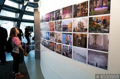 4500968 / Выставка Magnum Photo Live Lab/19. Выставка экспериментальной лаборатории Magnum Photo Live Lab/19.