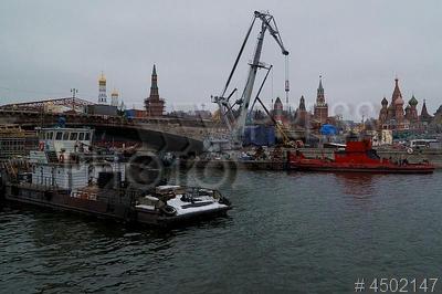 4502147 / Ремонт моста. Ремонт и реставрация Большого Москворецкого моста через Москву-реку.