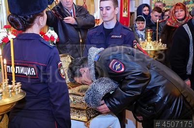 4507175 / Чин воинской молитвы. Проведение чина воинской молитвы мощам святого великомученика Георгия Победоносца.
