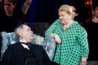 4542261 / Афанасьев и Муравьева. Актеры Валерий Афанасьев и Ирина Муравьева.