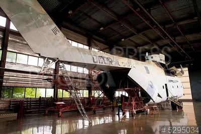 5295034 / Авиаремонтный комплекс. Авиаремонтный комплекс АО `ЮТэйр-Инжиниринг`. Техническое обслуживание и ремонт вертолета Ми-26.
