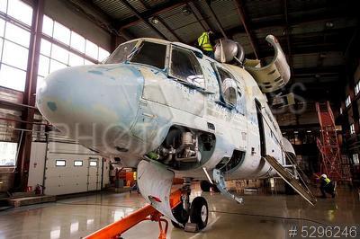 5296246 / Авиаремонтный комплекс. Авиаремонтный комплекс АО `ЮТэйр-Инжиниринг`. Техническое обслуживание и ремонт вертолета Ми-26.