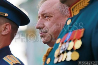 5942422 / Александр Беглов. День Гвардии. Врио губернатора Александр Беглов.