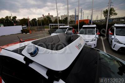 6132029 / Беспилотные автомобили `Яндекс`. Беспилотные автомобили `Яндекс`.