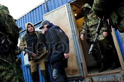 6157044 / Обмен пленными в Донбассе. Обмен пленными в Донбассе. Военнопленные из самопровозглашенных Донецкой и Луганской народных республик.