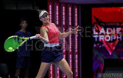 6167658 / Брэди Дженнифер. Международный женский теннисный турнир St.Petersburg ladies trophy 2020. Теннисистка Брэди Дженнифер (США).