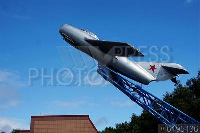 6195436 / Самолет МИГ-15. Музей военно-воздушных сил Северного флота. Самолет МИГ-15.