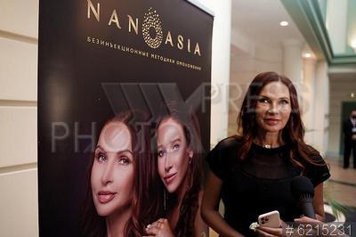 6215231 / Эвелина Бледанс. Презентация косметической компании NanoAsia. Актриса Эвелина Бледанс.