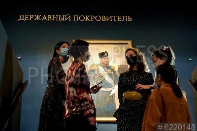6220148 / Выставка `Александр III. Миротворец`. Государственный исторический музей (ГИМ). Выставка `Александр III. Миротворец`.